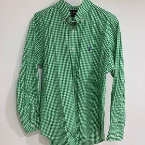 Ralph Lauren Check Button Down Collared Shirt